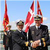 SNMG1 Conducts Change of Command Ceremony
